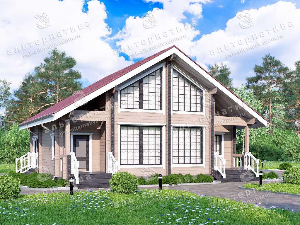 Дом 10х12, 150 м², брус