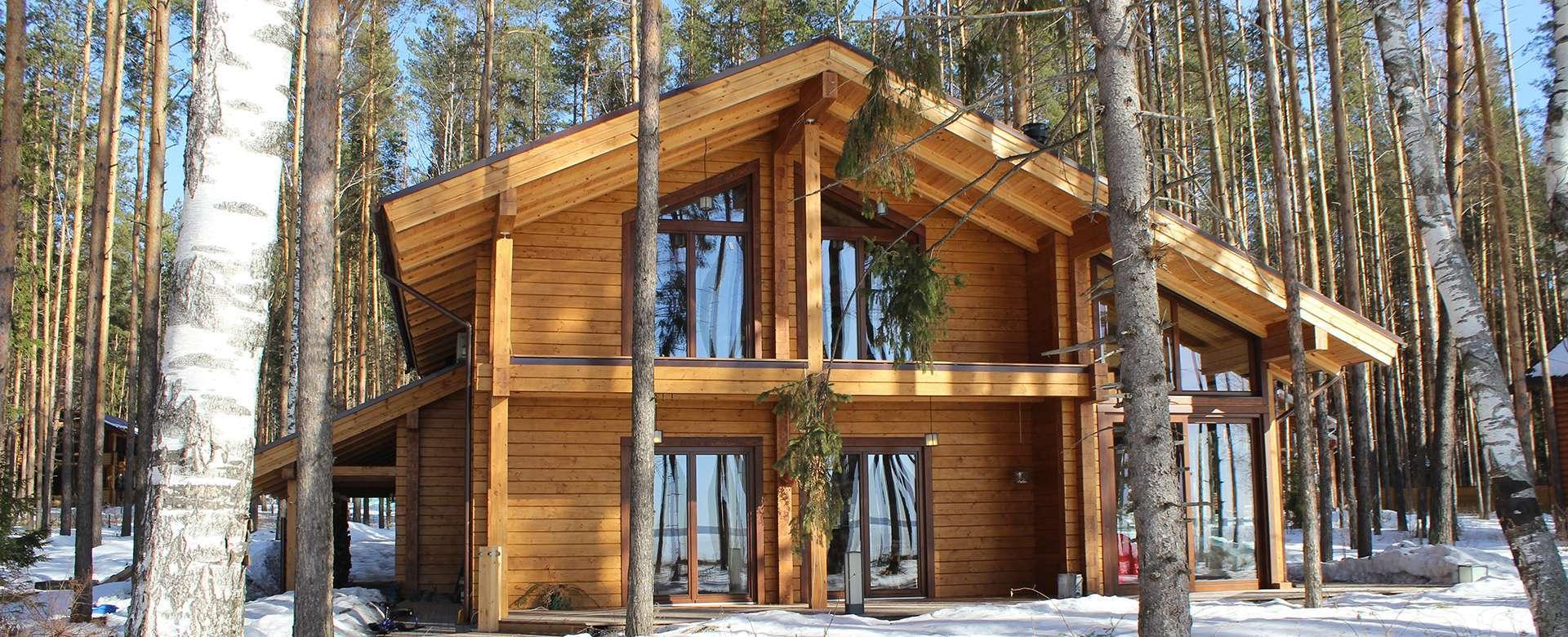 Строительство из зимнего бруса