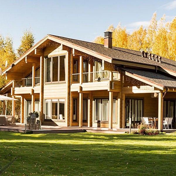 Преимущества деревянного домостроения