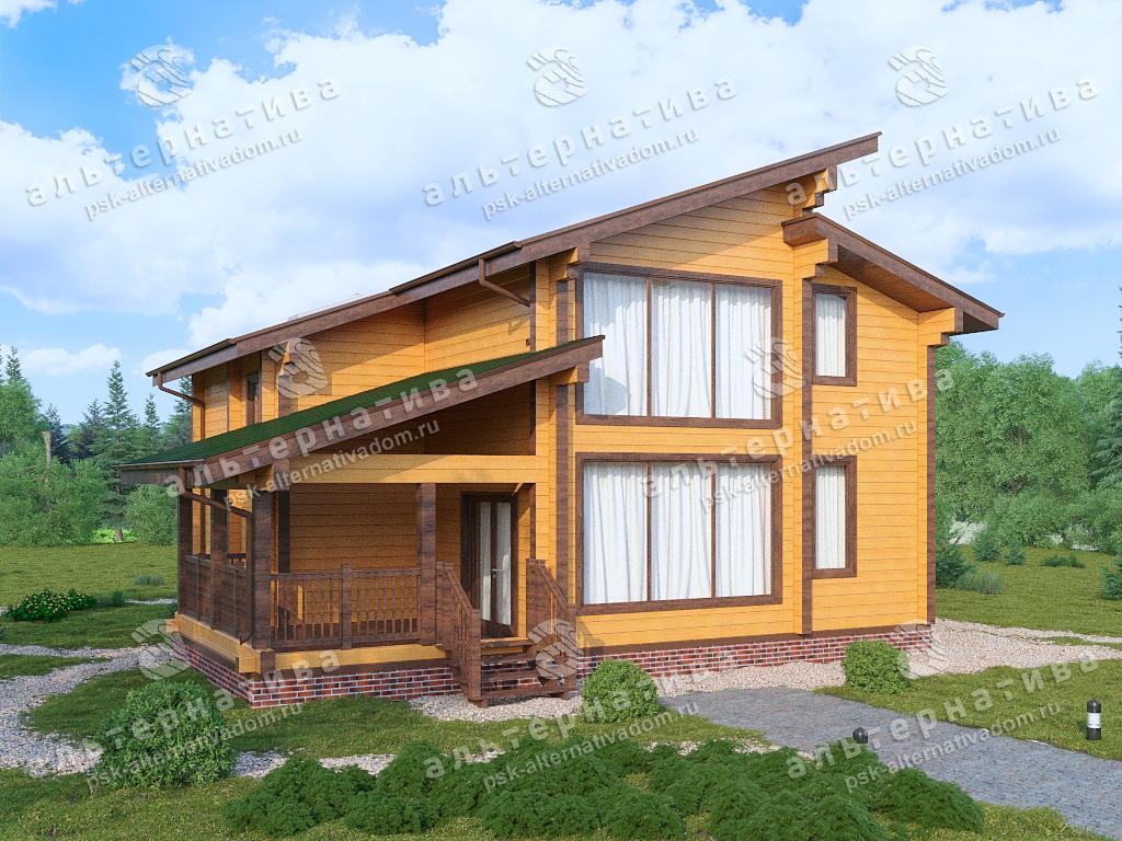 Дом из профилированного бруса или дом ручной рубки?!