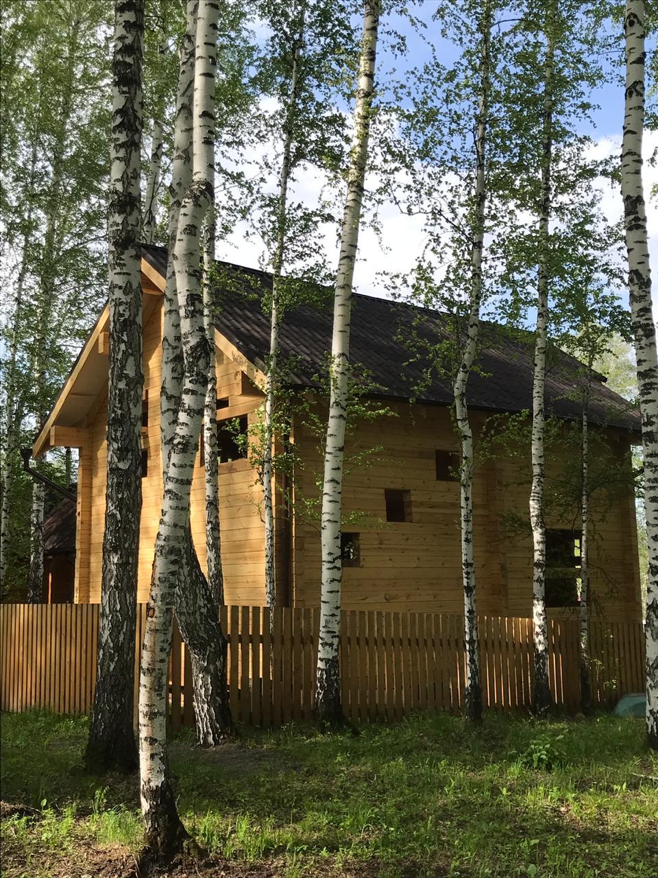 Дом 6х10, 120 м², брус
